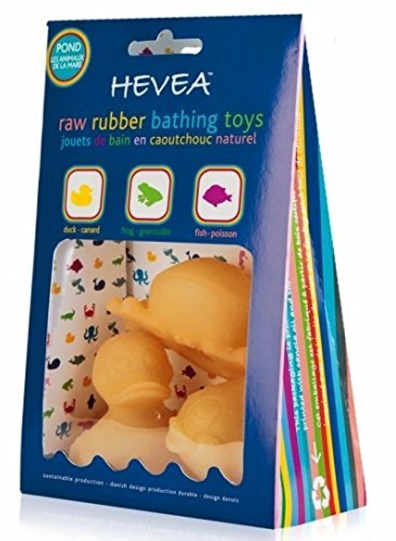 Hevea Pond Bath Toys [並行輸入品]