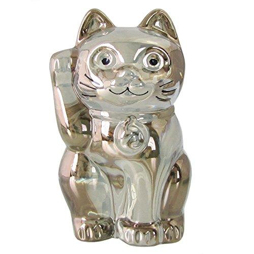 バカラ Baccarat フィギュア オーナメント 招き猫 ゴールド 2612997 【並行輸入品】 2612997