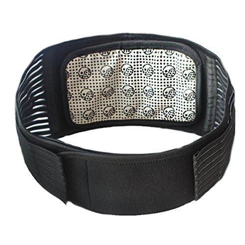 超暖かい 自己発熱ベルト 腰 サポーター スポーツ用 取外可能 LuckyFine 磁気療法 保温 両用式 スポーツ道具