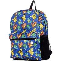 "Pokemon Large 17"" All Over Print Front Pocket Backpack"