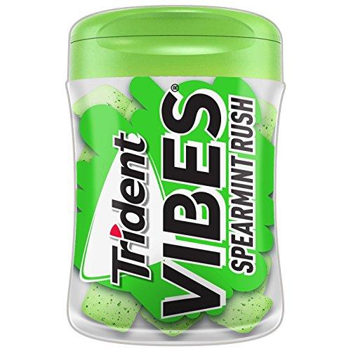 Trident Vibes Spearmint Rush Chewing Gum トライデントバイブススピアミントラッシュチューインガム [並行輸入品]