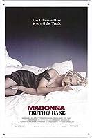 映画の金属看板 ティンサイン ポスター / Tin Sign Metal Poster of Movie Madonna: Truth or Dare