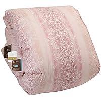昭和西川 掛けふとん ピンク シングル ヨーロッパ名産地羽毛布団フランスダウン90% 使用 羽毛ふとん 3011100099921