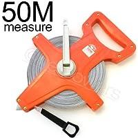 『テープメジャー50m』両面メモリ(メートル?フィート表示)巻尺