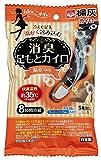 桐灰化学 消臭足もとカイロ 貼るつま先用 フレッシュソープの香り 白色 5足分(10個入)