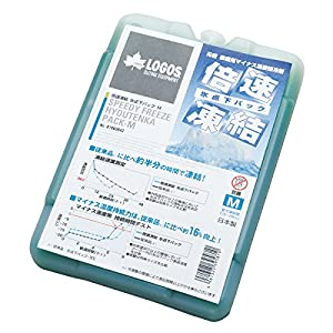 ロゴス(LOGOS) 保冷剤 倍速凍結 長時間保冷 氷点下パックM