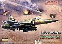 フリーダムモデルキット 1/48 F/A-20C タイガーシャーク 戦闘機/攻撃機 もしもバージョン プラモデル
