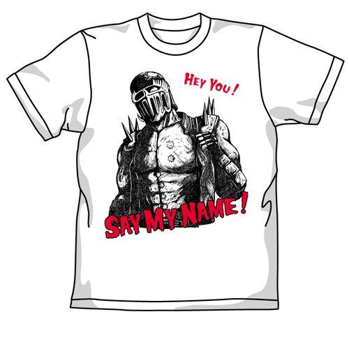 北斗の拳 SAY MY NAME!Tシャツ ホワイト サイズ:XL