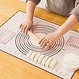 St. Lun DIY utensils non-stick dough pastry board,Silicone Baking Mats Non-stick Pizza Dough Sheet,Size:Dough scraper (Size :