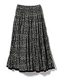 (デミルクス ビームス) Demi-Luxe BEAMS MARIHA (マリハ) スカート 草原の虹 ミニフラワー ロングスカート レディース