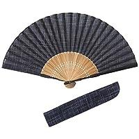 (ハクチクドウ)Hakuchikudo ベーシックDX扇子セット(全2種類) 11-jpn-basicdx NV 紺 -