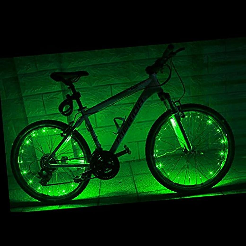 カーフ筋上下するFashionwu 自転車 LED ホイールライト 自転車タイヤ用ライト デコレーションラ ンプ 簡単取り付け 防水 安全警告ライト 事故防止