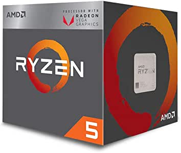 AMD Ryzen 5 3400G with Wraith Spire cooler 3.7GHz 4コア / 8スレッド 65W【国内正規代理店品】 YD3400C5FHBOX