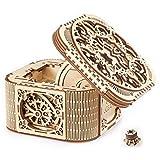 Ugears Treasure BOXト レージャーボックス 木製 ブロック パズル おもちゃ 70031