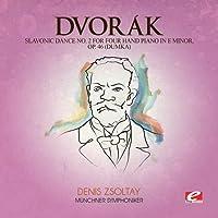 Slavonic Dance 2 Four Hand Piano E Min 46
