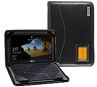 Broonel - Contour Series - ブラックレザーケース ASUS ZenBook 13 UX331UN