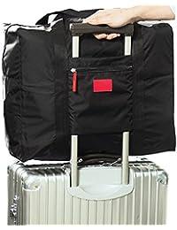 POSITIVE 超便利♪ 手のひらサイズに収納できる 携帯用 ボストンバッグ 旅行バッグ スーツケース の持ち手に通せる 旅行 や 出張 に最適な バッグ 保証書付き