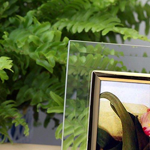 クリスタル湾曲フォトフレーム/写真立て 【L版=サービスサイズ対応】 ガラス製 生活用品 インテリア 雑貨 インテリア 家具 フォトスタンド アルバム top1-ds-1569414-ak [簡易パッケージ品]