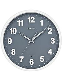 CASIO(カシオ) 置き時計・掛け時計 ホワイト/グレー 30.5×30.5×5.1cm(サイズ) IQ-1012J-8JF