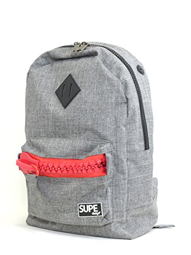 SUPE design シュープ デザイン BASIC BAGPACK ZIP_45263710526 【F】,4_GRAY