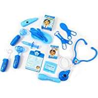 PowerTRC Deluxe Blue Doctor Medical Kit Playset