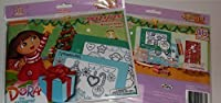 Holiday Pop-Outz Fun Frames Dora the Explorer Do It Yourself 4x6 Picture Frames - Decorate 2 Frames