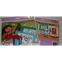 Holiday Pop-Outz! Fun Frames Dora the Explorer Do It Yourself 4x6 Picture Frames - Decorate 2 Frames [並行輸入品]