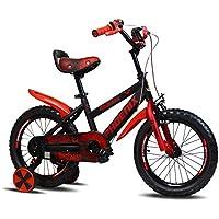 YANFEI 子ども用自転車 キッズバイク、サイズ12インチ、14インチ、16インチ、レッド、ブルー、ゴールド 子供用ギフト