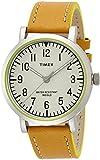 [タイメックス]TIMEX クラシックラウンド・ポップ シルバーケース ナチュラルダイアル キャメルストラップ T2P505 メンズ 【正規輸入品】