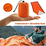 Thermal Waterproof Emergency Sleeping Bag for Outdoor Survival Hiking Camping