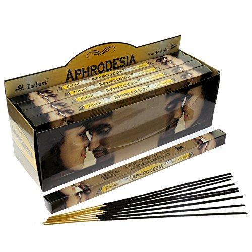Tulasi Aphrodesia Incense, 8 Sticks x 25 Packs