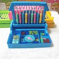 幼児期のゲーム 2 in 1インテリジェンスボックスチャイルドラーニングカウンター(青)