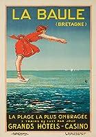 La BauleヴィンテージポスターフランスC。1924 12 x 18 Art Print LANT-61040-12x18