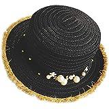 帽子 レディース UVカット 帽子 麦わら帽子 UV帽子 紫外線対策 通気性 漁師の帽子 ニット帽 マニュアル 真珠 太陽 キャップ 余暇 休暇 キャップ レディース ハンチング帽 大きいサイズ 発送 ROSE ROMAN