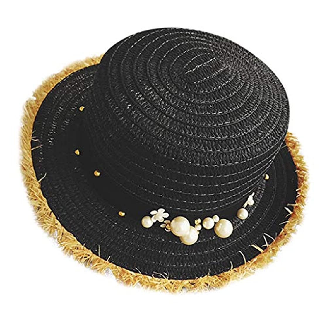 日没思いやりのある柔らかい足帽子 レディース UVカット 帽子 麦わら帽子 UV帽子 紫外線対策 通気性 漁師の帽子 ニット帽 マニュアル 真珠 太陽 キャップ 余暇 休暇 キャップ レディース ハンチング帽 大きいサイズ 発送 ROSE ROMAN