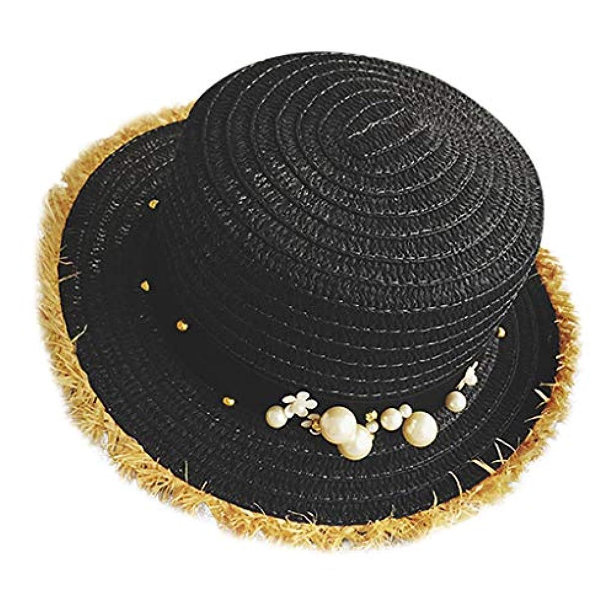 トロリーバスサイト塩辛い帽子 レディース UVカット 帽子 麦わら帽子 UV帽子 紫外線対策 通気性 漁師の帽子 ニット帽 マニュアル 真珠 太陽 キャップ 余暇 休暇 キャップ レディース ハンチング帽 大きいサイズ 発送 ROSE ROMAN