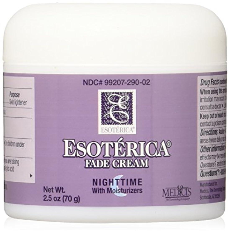 組先駆者チャレンジ海外直送品Esoterica Fade Cream Nighttime With Moisturizers, 2.5 oz by Esoterica