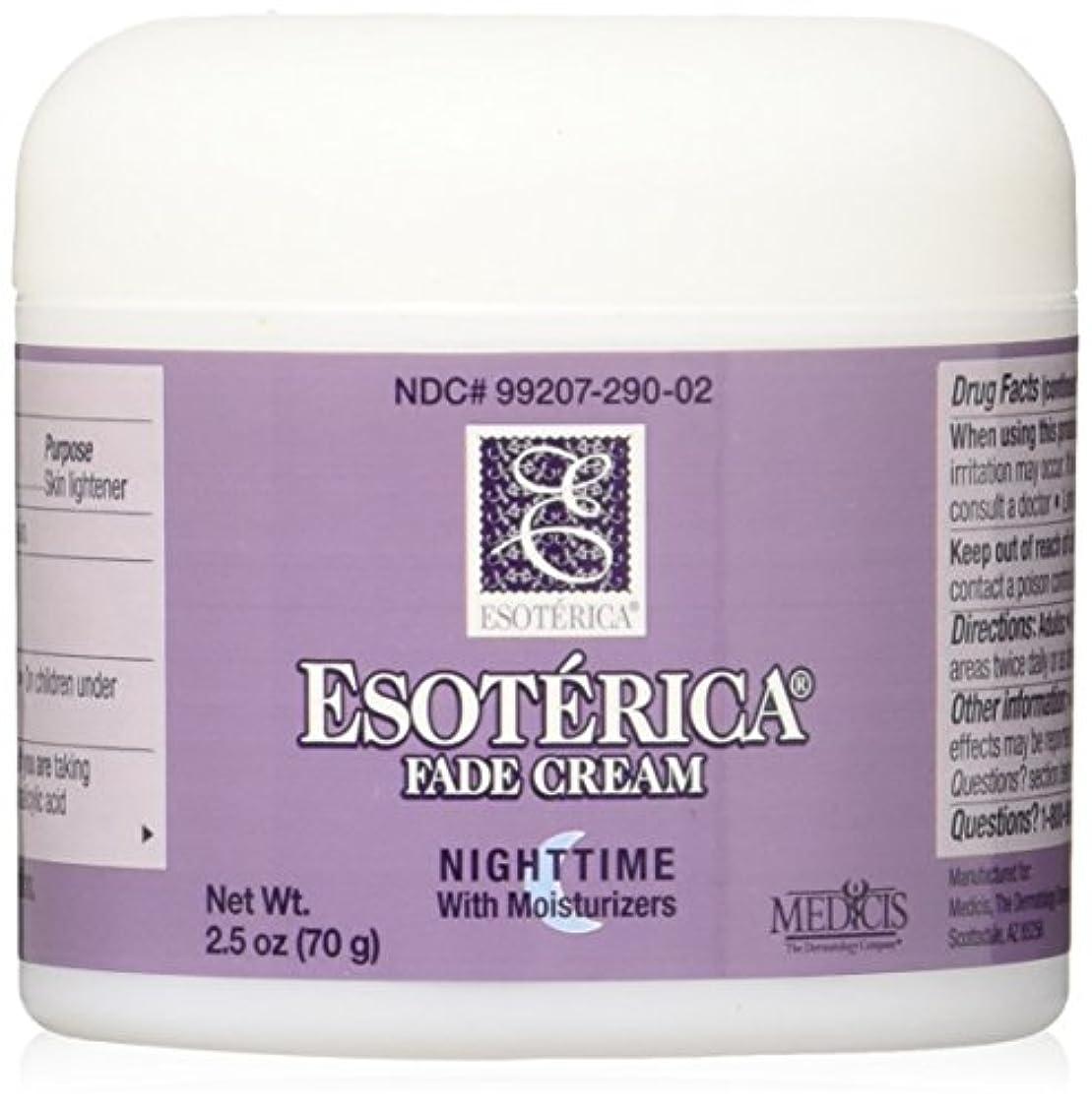 成長する最小曇った海外直送品Esoterica Fade Cream Nighttime With Moisturizers, 2.5 oz by Esoterica