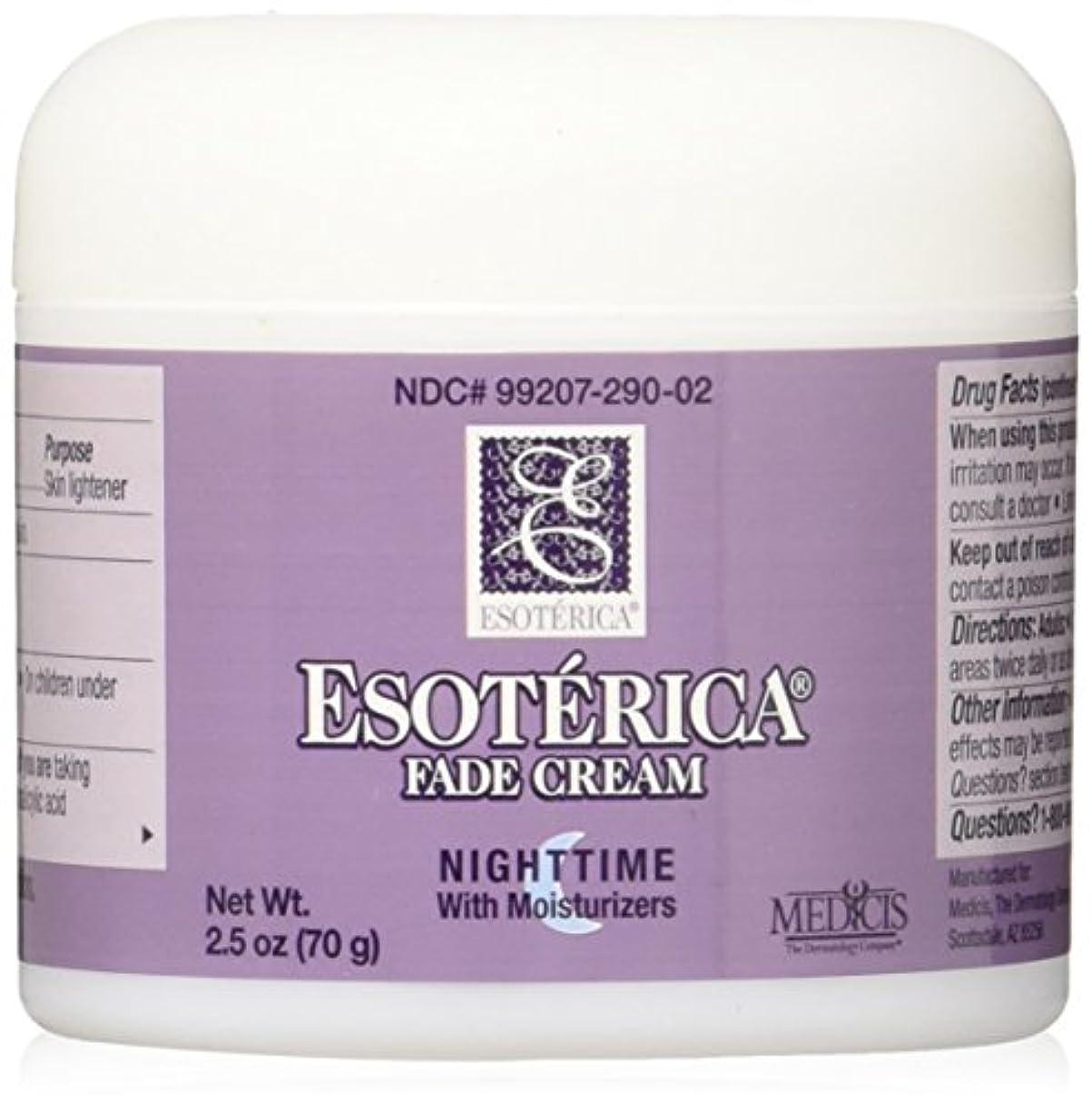 正気立ち向かう夕方海外直送品Esoterica Fade Cream Nighttime With Moisturizers, 2.5 oz by Esoterica