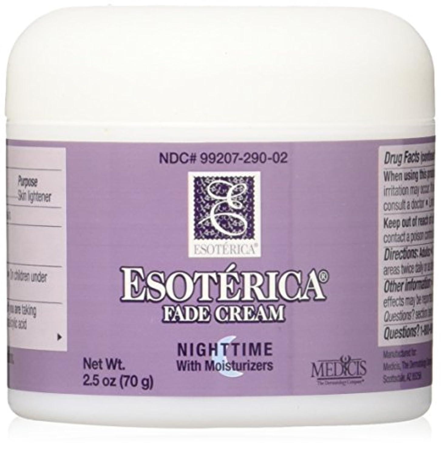 推測する請う広大な海外直送品Esoterica Fade Cream Nighttime With Moisturizers, 2.5 oz by Esoterica