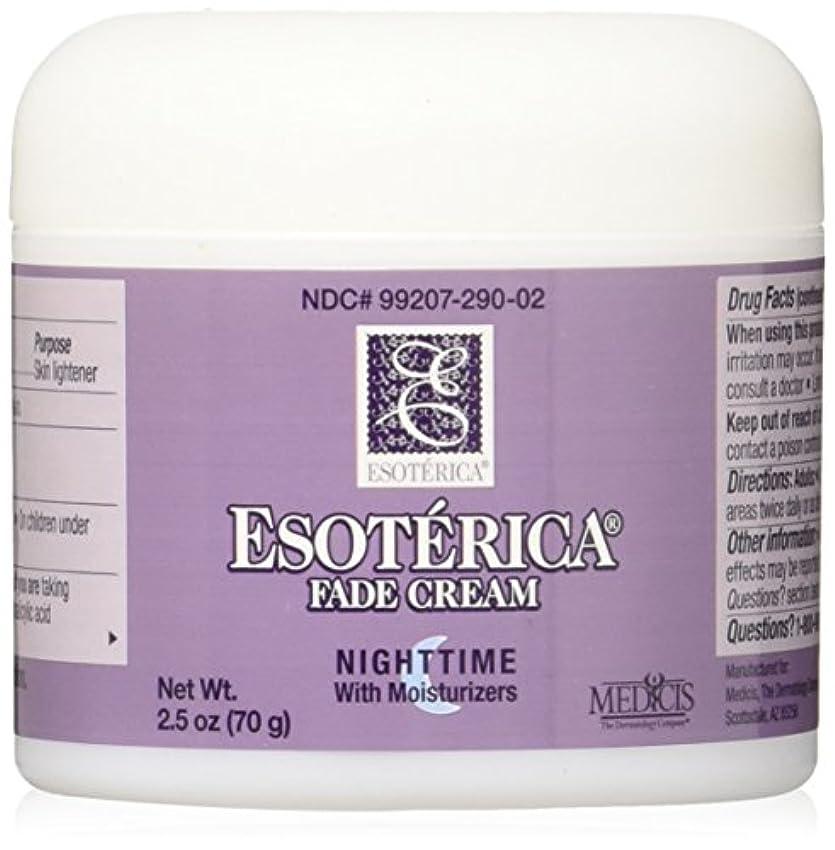 虚栄心アッティカスカジュアル海外直送品Esoterica Fade Cream Nighttime With Moisturizers, 2.5 oz by Esoterica