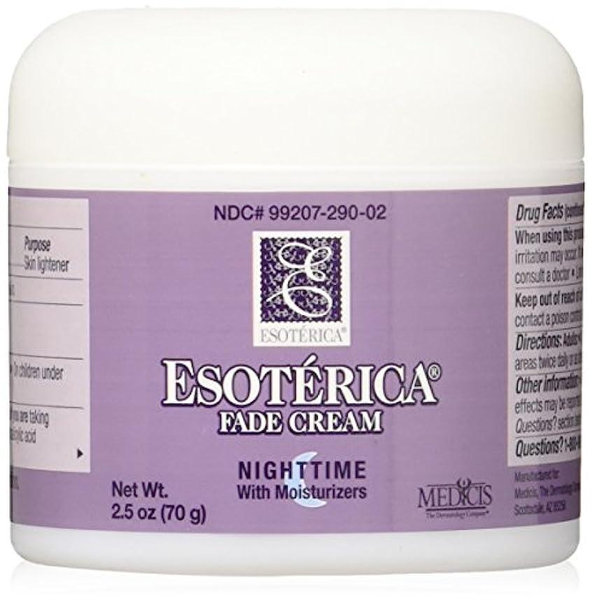 悪性腫瘍一時的毎年海外直送品Esoterica Fade Cream Nighttime With Moisturizers, 2.5 oz by Esoterica