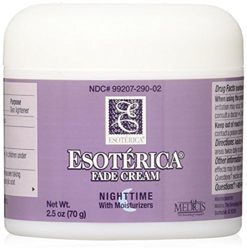 絡み合い上に築きます少年海外直送品Esoterica Fade Cream Nighttime With Moisturizers, 2.5 oz by Esoterica