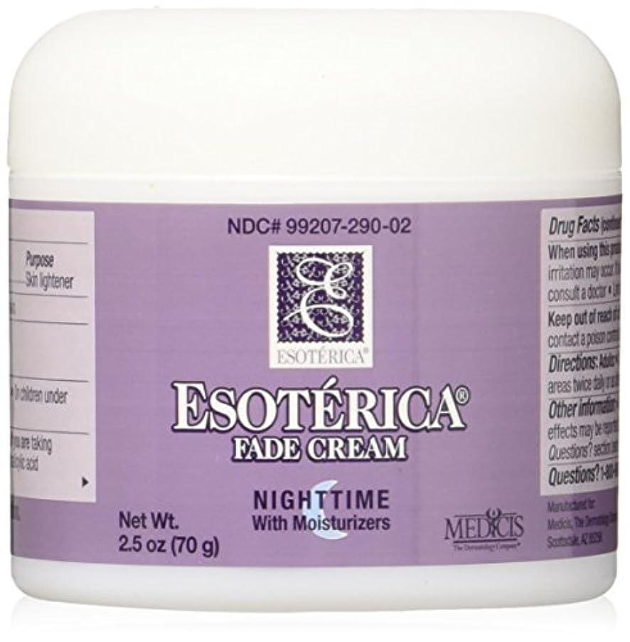 海外直送品Esoterica Fade Cream Nighttime With Moisturizers, 2.5 oz by Esoterica