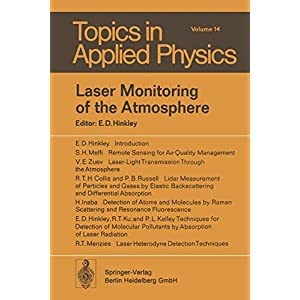 Laser Monitoring of the Atmosphere (Topics in Applied Physics)