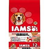 アイムス (IAMS) 成犬用 健康維持用 ラム&ライス 小粒 12kg [ドッグフード]