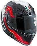 AGV エージーブイ GT-Veloce Izoard Pinlock Helmet 2016モデル ヘルメット ブラック/ホワイト/レッド ML(58cm)