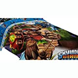 おもちゃ 4pc Skylanders スカイランダーズ Giants Full Bed Comforter Set Energy Conquers Bedding [並行輸入品]