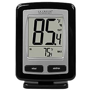 【La Crosse】デジタルワイヤレス温度計無線温度計 温度センサー