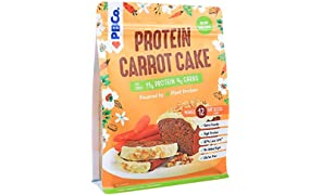 Plant Based Protein ��Low Carb Carrot Cake 320g (12 Slices) Gluten Free